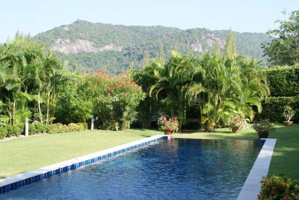 Baan Ing Phu Luxury Pool Villas, 3-bedroom, Huahin